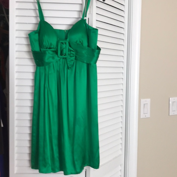 highly coveted range of promo code prevalent Cute emerald green satin sundress